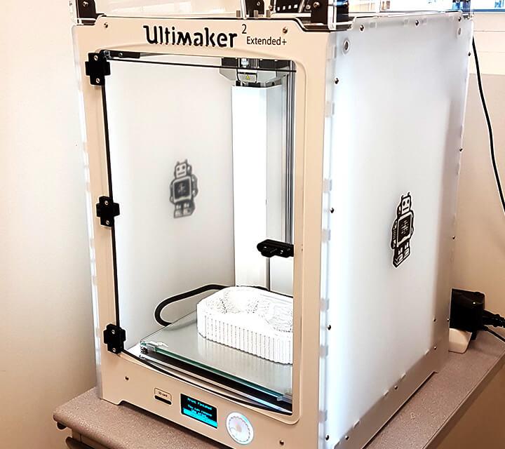 imprimante 3D pour réalisation de prototypes ecofeutre