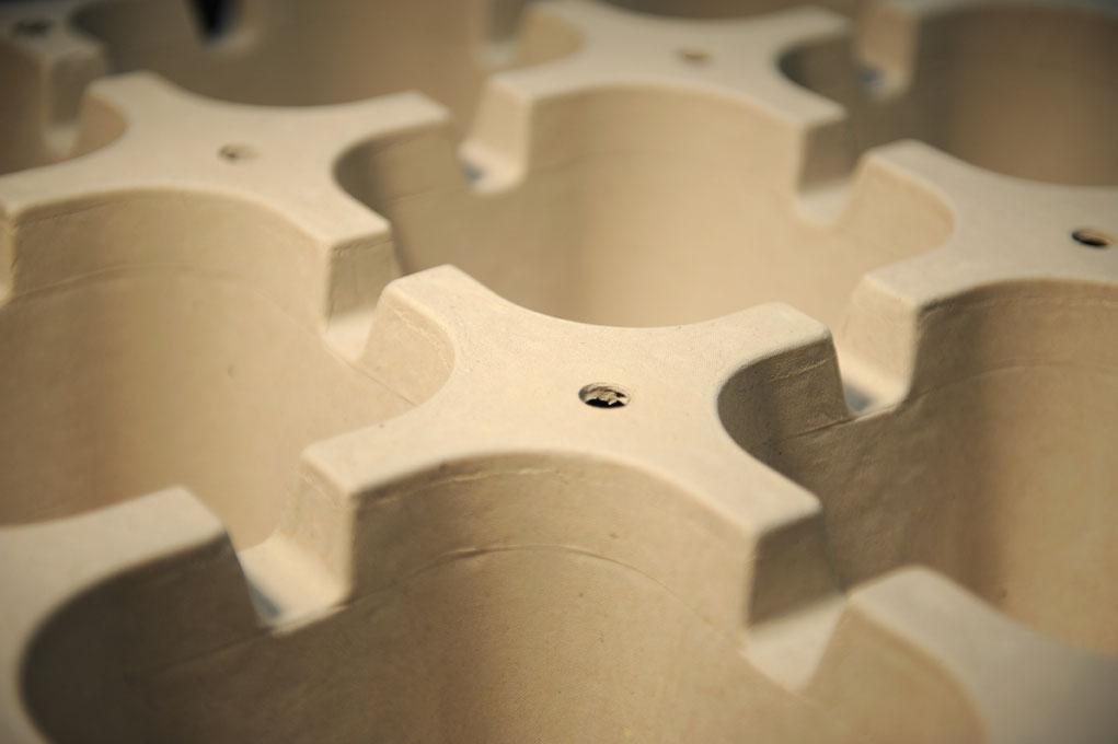 Emballages ECOFEUTRE de couleur marron