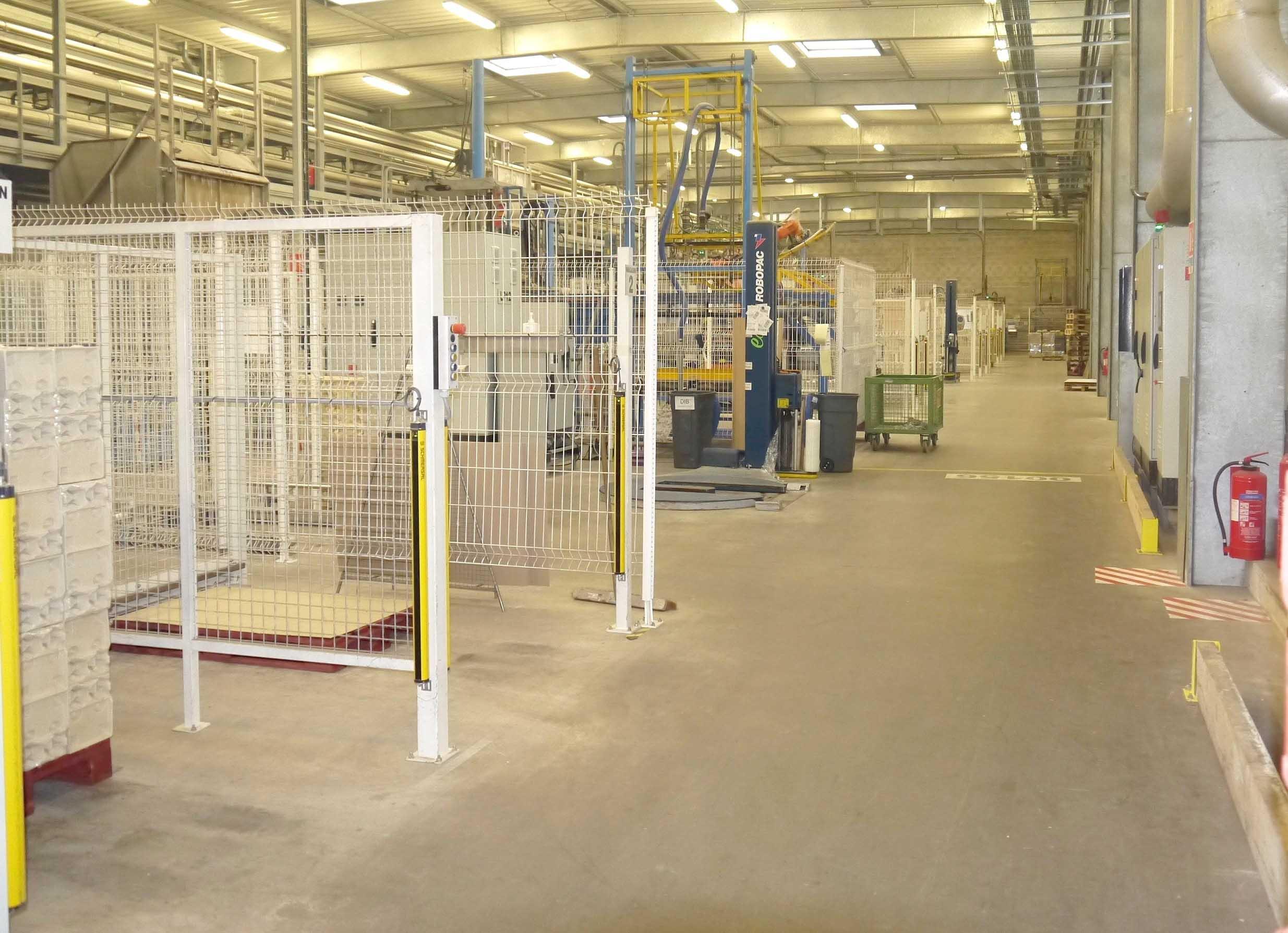 couloir usine ecofeutre cellulose moulée
