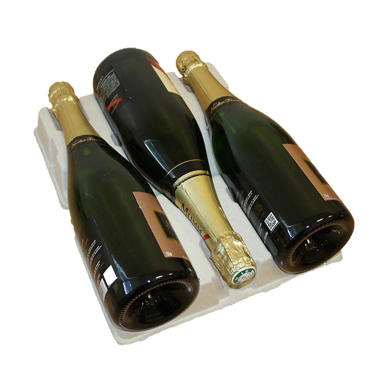 emballage bouteilles de Champagne ecofeutre