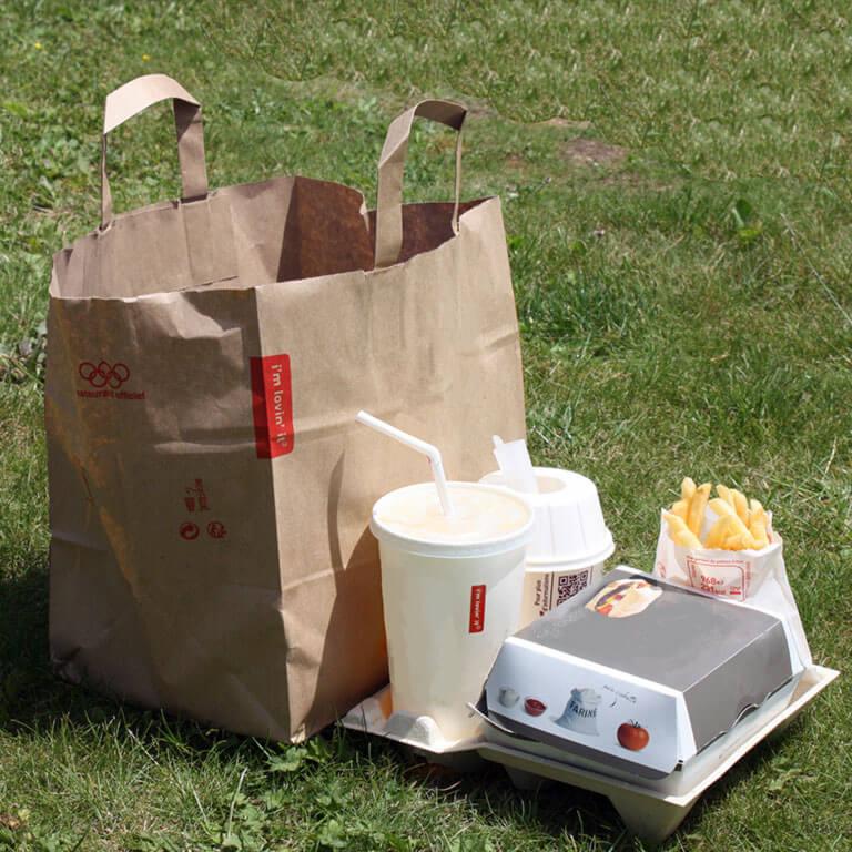 Emballage pour la restauration rapide