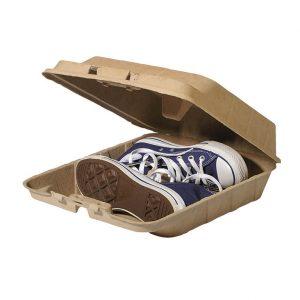 boite à chaussures, emballage écologique, recyclable