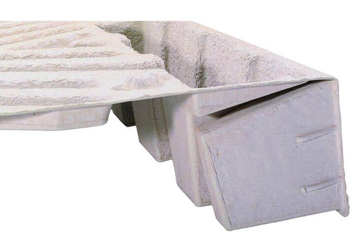 palette ecofeutre en cellulose moulée