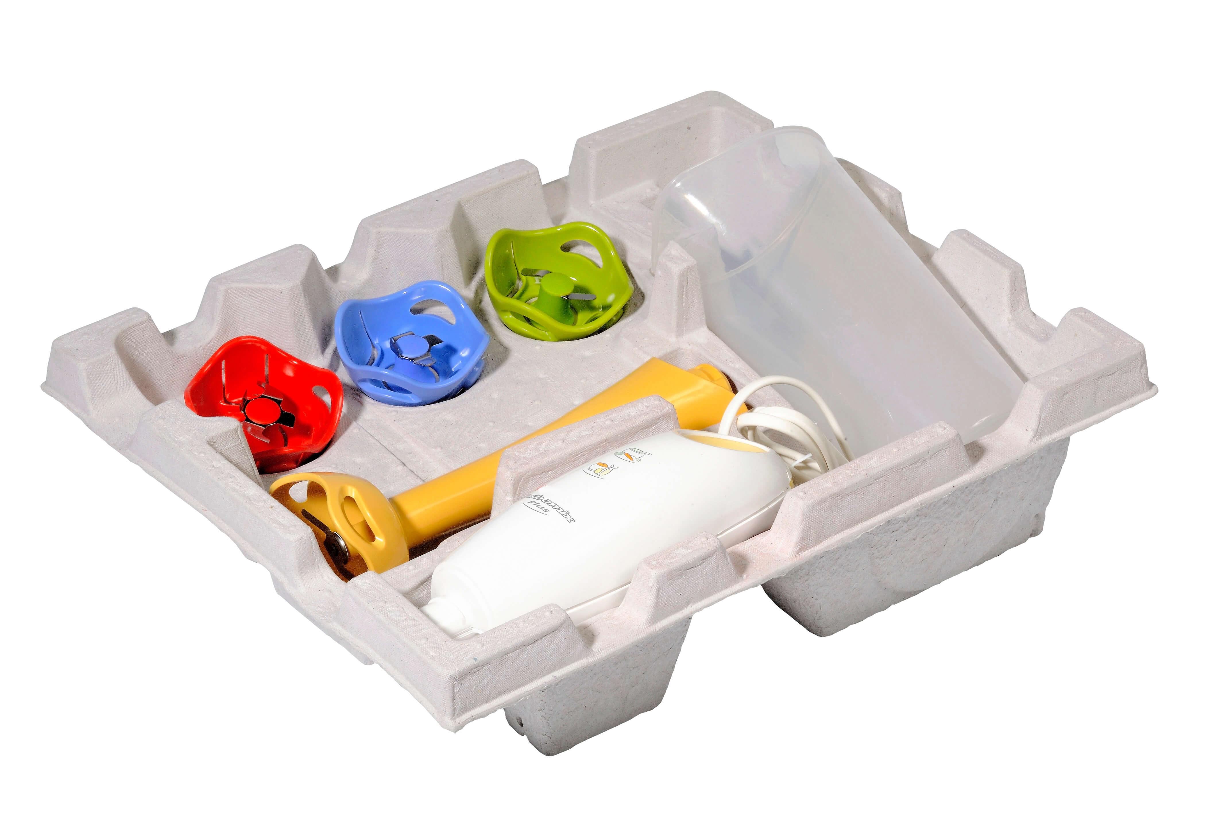 calage emballage électroménager cellulose moulée